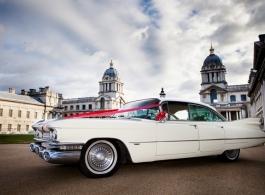 Classic American Cadillac hire in Ascot