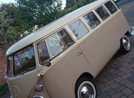 Splitscreen Campervan for weddings in Basingstoke