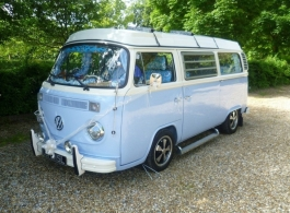 Classic VW Campervan for weddings in Basingstoke