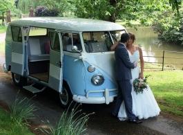 VW Campervan for weddings in Eastbourne