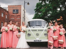 1976 VW Campervan for hire in Reading
