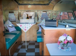 1967 VW Campervan for wedding hire in Petersfield