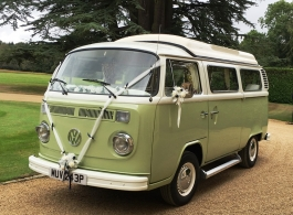 VW Campervan for wedding hire in Marlow