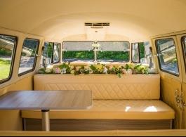 1967 VW Campervan for wedding hire in Dorking