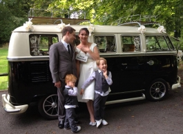 VW Campervan for Wedding hire in Portsmouth, Hampshire