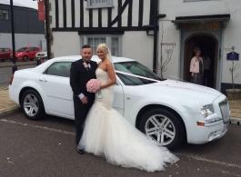 Chrysler 300 for wedding hire in Cheshunt