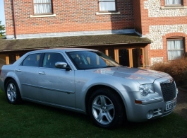 Chrysler 300 for weddings in Chichester