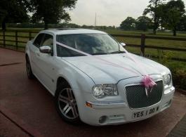 Chrysler 300c for weddings in Watford