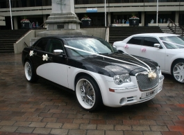 Chrysler 300c for weddings in Southsea