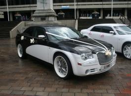 Chrysler 300c for weddings in Southsea
