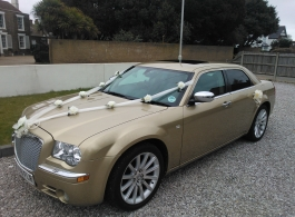 Chrysler 300c wedding car hire in Deal