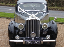 Classic Bentley wedding car hire in Hastings