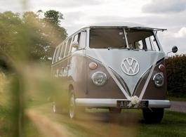 Classic VW Campervan for weddings in Bedford