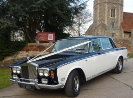 Classic Rolls Royce for wedding hire in Rochford, Essex