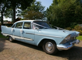 Plymouth Savoy Sedan for wedding hire in Tonbridge