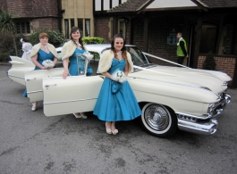 Cadillac wedding car hire in London