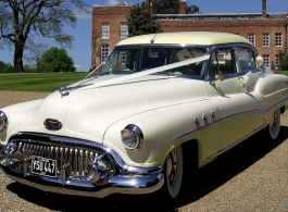 Classic American wedding car hire in London