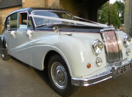 Classic Armstrong wedding car for hire in Maidstone