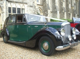 Classic Bentley MKV1 for weddings in Canterbury