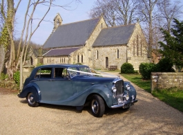 Classic Bentley for weddings in Goodwood