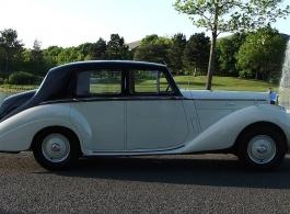 1953 Bentley R Type for weddings in Winchester