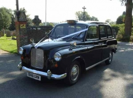 Classic Taxi wedding car hire in Hook