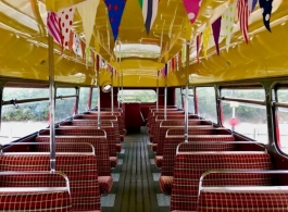 Traditional Red London Bus for weddings in Sevenoaks