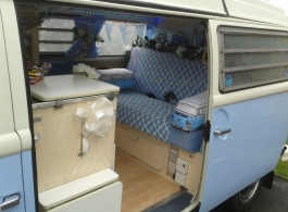 Campervan for wedding hire in Reading