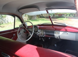 1950 White Chevrolet for wedding hire in Kingston Upon Thames