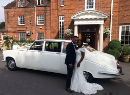 Classic Daimler DS420 for weddings in Hatfield