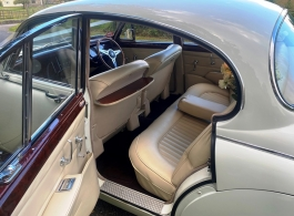 1964 Jag MK2 for weddings in Chepstow