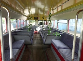 Classic Routemaster Bus for weddings in Guildford