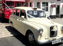 White London Taxi wedding car hire in Farnham