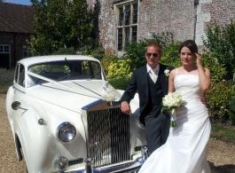 Rolls Royce Silver Cloud for weddings in Salisbury