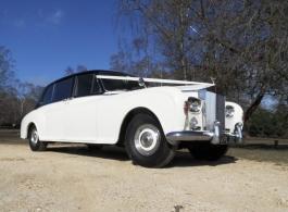 Classic Rolls Royce wedding car in Southampton