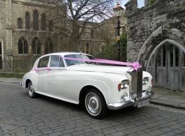 Classic Rolls Royce for weddings in Gravesend