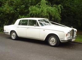 Classic Rolls Royce for weddings in Crawley