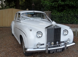 Rolls Royce Silver Cloud wedding car in Southsea