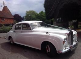 1960s Rolls Royce Silver Cloud for weddings in Tonbridge