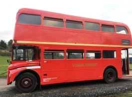 Routemaster bus for weddings in Winchester