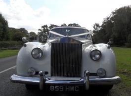 Rolls Royce Silver Cloud wedding car in Basingstoke