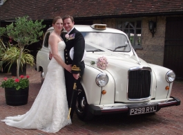 London wedding Taxi for hire in Brighton