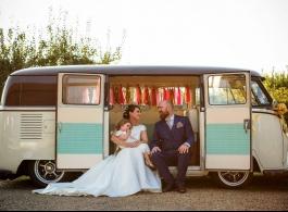 1964 VW Campervan for weddings in Brighton