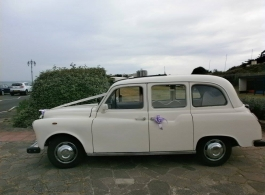 White London Taxi for wedding hire in Southsea