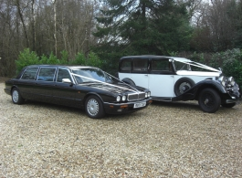 Daimler Limousine for weddings in East Sussex