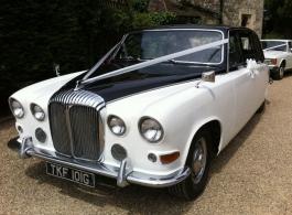 1960s Daimler for weddings in Gravesend
