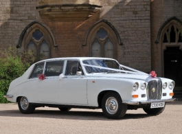 Daimler wedding car hire in Mansfield