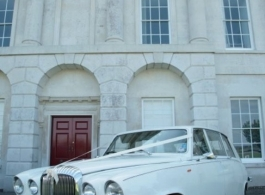 Classic Daimler Limousines for weddings in Hampshire