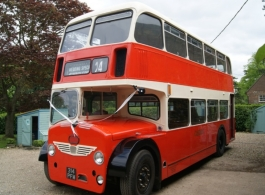 1960 bus for weddings in Worcester