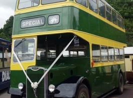 1956 bus for wedding hire in Kidderminster